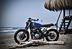 Beach Body: The Honda Dominator NX650, Italian style