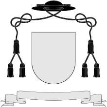 Br de armas de um cónego católico