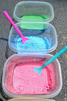 This site has some great ideas for little ones! .....homemade paint recipe