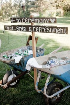 Take Those Old Wheelbarrows Out Of The Garage And Put Them To Good Use!
