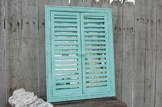 Window & shutters mirror