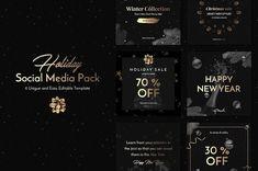 Holiday Social Media Pack vol.1