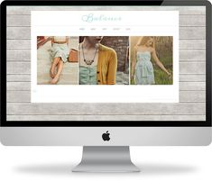 Balance - WP Blog & Website Theme - blog opens to 2-column design - $40 etsy
