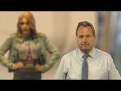 ▶ Asda 3D printer builds mini versions of you - YouTube