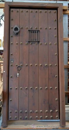 1000 images about puertas on pinterest antigua rustic - Puertas entrada rusticas ...