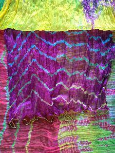 India Dupattas Colorful Textiles