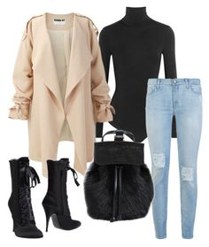 """""""Untitled #338"""" by eaubleue on Polyvore featuring Wolford, 7 For All Mankind, Giuseppe Zanotti, DESA 1972, women's clothing, women's fashion, women, female, woman and misses"""