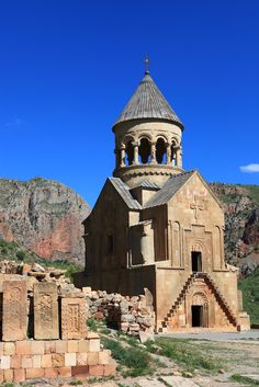 "https://flic.kr/p/cdDiYJ | Armenia NORAVANK  MONASTERY | Noravank (Armenian: Նորավանք, meaning ""New Monastery"" in Armenian) is a 13th century Armenian monastery. The gorge where the monastery is located is known for its tall, sheer, brick-red cliffs, directly across from the monastery. The monastery is best known for its two-storey Surp Astvatsatsin (Holy Mother of God) church, which grants access to the second floor by way of a narrow stone-made staircase jutting out from the face ..."