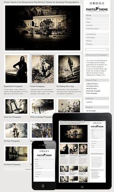 Photo WordPress Theme - Photographers