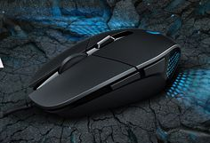 Logitech G302 Daedalus Prime MOBA Gaming Mouse Unveiled - Logitech has designed the G302 Daedalus Prime to withstand the rigours of professional eSports gaming and have equipped it with a exclusive metal spring button tensioning system for responsive, fast and accurate clicks. | Geeky Gadgets