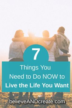 You can live the life you want, but you'll need to do 7 things to claim the life you dream of living. Learn how to create a life you love with these simple yet powerful principles. Design Your Life, Love Your Life, The Life, Manifestation Journal, Work Stress, Ways To Communicate, Transform Your Life, Best Blogs, Positive Living