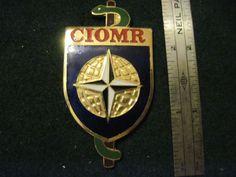NATO CIOMR CIOR Inter-Allied Confederation Reserve Medical Officers Pocket Badge