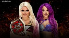Sasha Banks will challenge Alexa Bliss for the Raw Women's Championship at the first-ever WWE Great Balls of Fire pay-per-view, tonight at 8 PT, streaming live on WWE Network. Wwe Raw Women, Ready To Rumble, Pay Per View, Raw Women's Champion, Brock Lesnar, Sasha Bank, Total Divas, Wwe News, Season 7