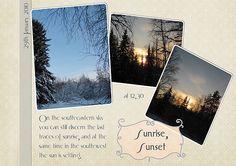 Sunrise, Sunset by Eijaite.deviantart.com on @DeviantArt