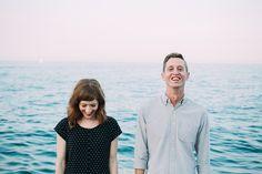 Lake Michigan Engagement photos | Rachel & Andrew — Chicago Wedding Photography | Chicago Lifestyle Portraiture | Anna Zajac