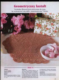 World crochet: Napkin 104