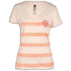 Roxy Salt and Pepper V-Neck T-Shirt - Short-Sleeve - Women's