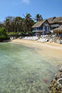 Isla del Sol - Rosario Islands, Colombia