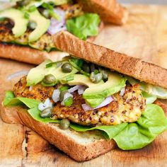 Vegan Sweet Potato and Squash Burgers