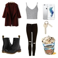 """""""27.10.15"""" by sxrxxrxs ❤ liked on Polyvore featuring Glamorous and Dr. Martens"""