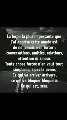 Strong Words, Wise Words, French Quotes, Tweet Quotes, My Mood, Self Development, Positive Affirmations, Motivation Inspiration, Cool Words