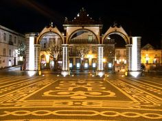 Ponta Delgada, Azores ... I've walked through these gates. Beautfiful city attraction