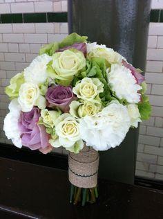 Colourful Vintage Bridal Bouquet