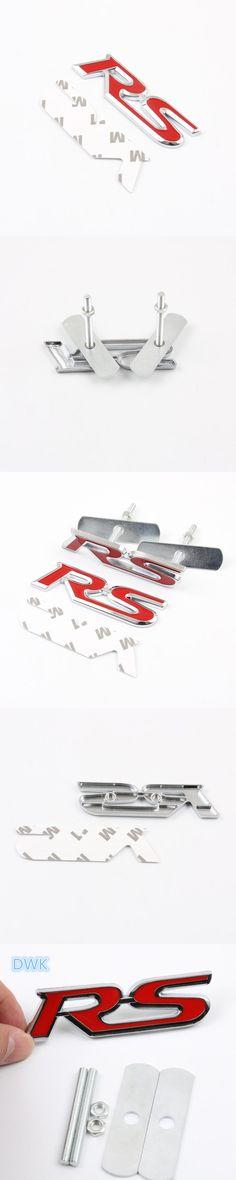 Universal Metal Chrome Vintage Car Blade Fender France Flag Sticker Badge Emblem