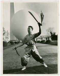 New York World's Fair 1939 Martial Arts World Of Tomorrow, World Class, World's Fair, New York Public Library, Martial Arts, Samurai, New York City, Around The Worlds, Nyc