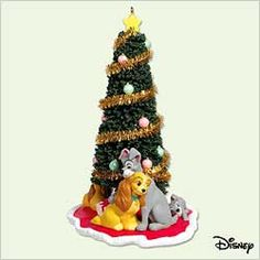 2005 Disney - Lady and The Tramp Hallmark Ornament at The Ornament Shop