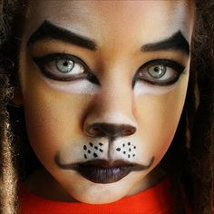 Simple looking lion face paint. The Lion of Judah by ~melaniumom on deviantART Lion King Play, Lion King Jr, Lion Of Judah, Monkey Makeup, Lion Makeup, Animal Makeup, Eye Makeup, Lion King Costume, Cowardly Lion Costume