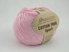 Włóczka Cotton Tru Sport kolor różowy nr 107-13 Pasmanteria U Gaby