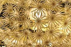 Lámpa készült egy papír csillag dísz — Stock Kép #34108499