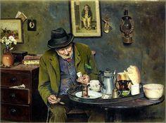 Patience ~ Charles Spencelayh ~ (English 1865 – 1958)