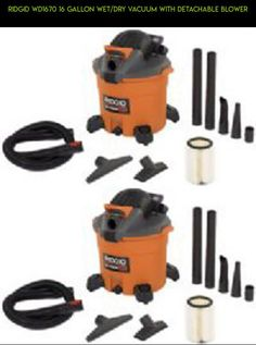Ridgid WD1670 16 Gallon Wet/Dry Vacuum with Detachable Blower #storage #drone #tech #kit #plans #camera #gadgets #vac #shopping #fpv #parts #racing #products #technology