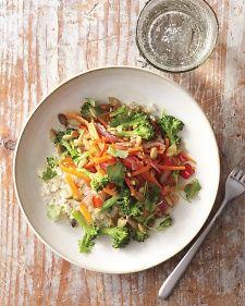 "Cauliflower ""Rice"" Stir-Fry   Whole Living"