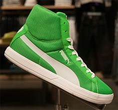 Green Pumas! I've have to get some!