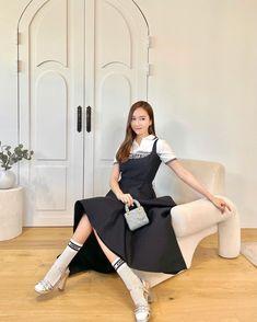 Korean Outfit Street Styles, Korean Street Fashion, Daily Fashion, Girl Fashion, Fashion Design, Jessica Jung Fashion, Jessica Jung Style, High Fashion Trends, Kpop
