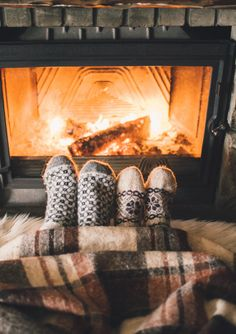 """Nothing says """"Fall"""" more than curling up with a blanket in front of the fireplace. #ForeverLiving #Benelux #Fall #Autumn #Fireplace #Cosy"""