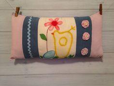 Home Decor Pillow Spring Pillow Easter by thegiftgardenshoppe