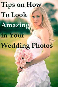 Pin now, read later! Quick tips from actual photographers on how to look your best for wedding photos. http://www.weddingphotousa.com/photographertips-5.htm