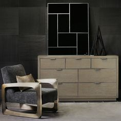 Shop Aletha Faux-Shagreen Dresser from Bernhardt at Horchow, where you'll find new lower shipping on hundreds of home furnishings and gifts. High End Furniture Stores, Furniture Companies, Furniture Sale, Modern Furniture, Furniture Design, Hooker Furniture, Upholstered Furniture, Bedroom Furniture, Chest Dresser