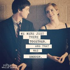The Perks of Being a Wallflower // Logan Lerman // Emma Watson // # film Movie Quotes, Book Quotes, Quotes Quotes, Perks Of Being A Wallflower Quotes, Emergency Room, Romance, Cute Love Quotes, Smart Quotes, Motivation