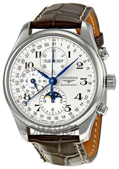 Longines Master Collection Chronograph Mens Watch L27734783 www.ChronoSales.com for all your luxury watch needs, sign up for our free newsletter, the new way to buy and sell luxury watches on the internet. #ChronoSales