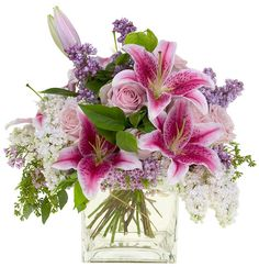 Spring Arrangement with Lilies - - Leanne and David Kesler, Floral Design Institute, Inc., in Portland, Ore. | Flickr - Photo Sharing!