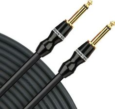"2 Hosa SKJ-420 14 Gauge AWG 20/' Foot 1//4/"" TS To 1//4/"" TS Speaker Cables Pair"