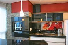 Vidro para revestir paredes e móveis! Ótimas ideias para sua cozinha e casa toda!