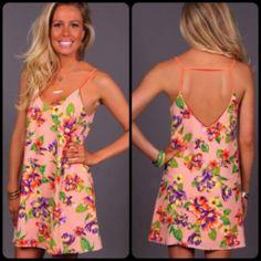 BuddyLove floral dress!