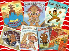 Fun versions of The Gingerbread Man for students to compare and contrast