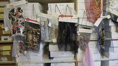 Samples at Lesage....La Broderie Haute Couture une Passion!